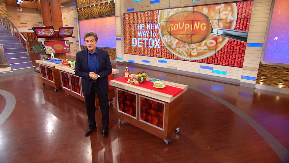 Dr. Oz Explains His 3-Day Souping Detox