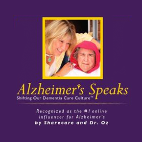 Alzheimer's Speaks - Shifting Our Dementia Care