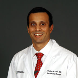 Dr. Chetan A. Patel, MD - Greenville, SC - Cardiology (Cardiovascular Disease)