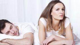Sex and men falling asleep