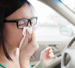 Driving with a Cold is As Dangerous as Driving Drunk