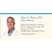 Dr. Marc Bauer, DO - Prosper, TX - undefined