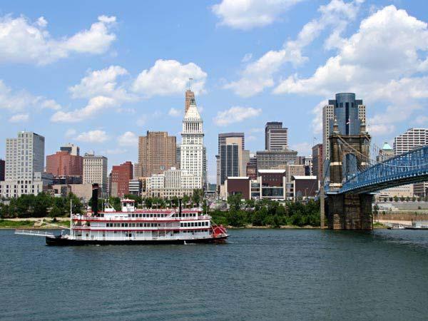1. Cincinnati, OH
