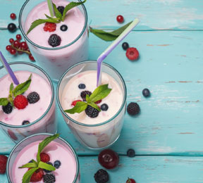 Berry Smoothie for Your Skin