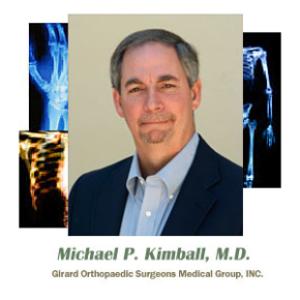 Dr. Michael P. Kimball, MD