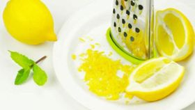 Prevent Skin Cancer With Lemon Zest