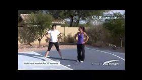 Wendy Batts - Static Inside Thigh Stretch