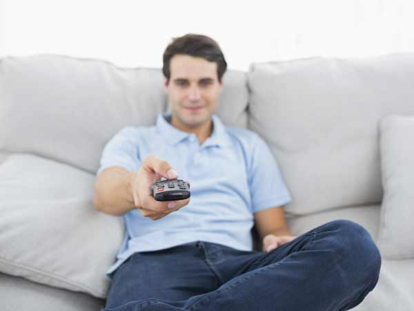 "7. TV Remotes Have a ""Bye-Bye Belly Fat"" Button"