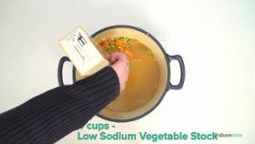 Hulled Barley Vegetable Soup