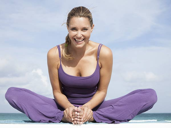 8 Yoga Moves for a Happier Mood