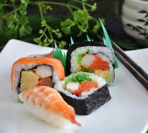 Healthy Sushi? Here's the Raw Truth