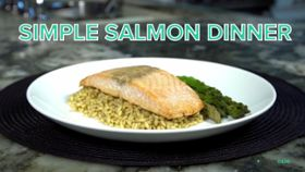 Simple Salmon Dinner