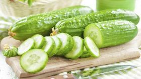 Crunch Cucumbers for Smoother Skin