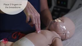 How Do You Perform CPR Chest Compressions on an Infant?
