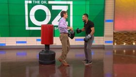 Dr. Oz Boxes With Kamar de los Reyes