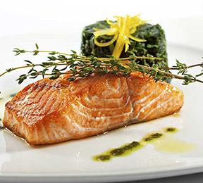Norwegian-Style Oven Roasted Salmon Recipe