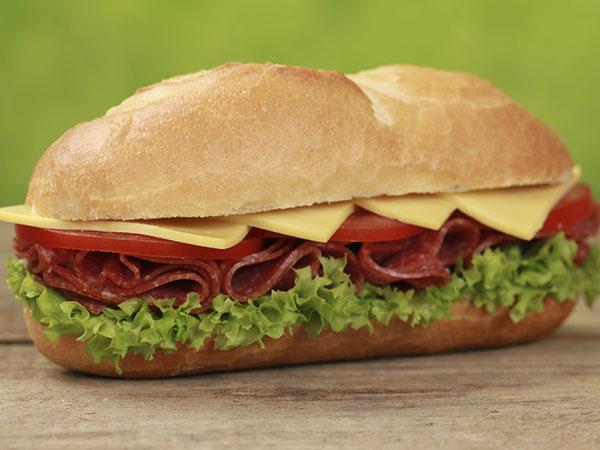 Worst Junk Food #3: Submarine Sandwich