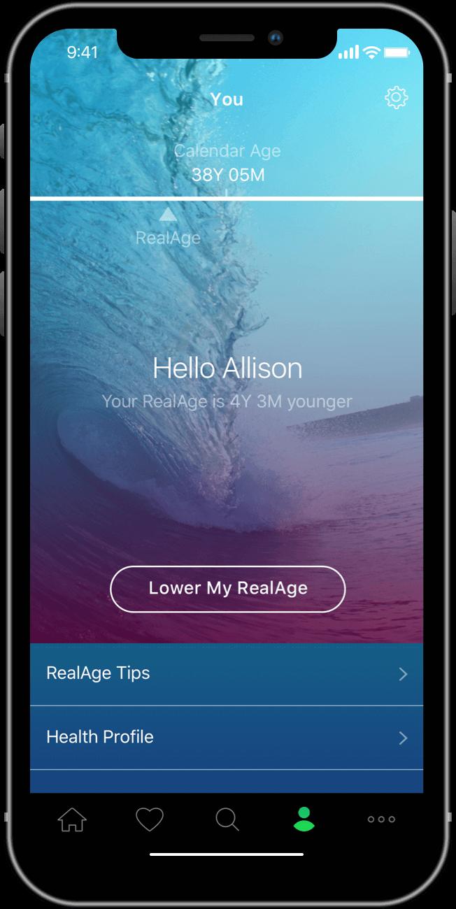 RealAge Screenshot